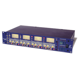 "[FR-428] IS 428 MkII :: Class A ISA 4-channel preamp with 4 additional ""dead"" inputs and optional ADC"