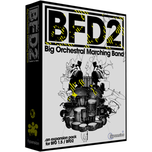 [FX-BOMB] BFD Big Orchestral & Marching Band: expansion pack for BFD1.5 & BFD2.