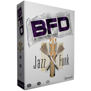 [FX-BFDJazz] Expansion pack featuring a Yamaha Maple Custom drum kit
