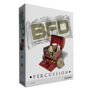 [FX-BFDPerc] An extensive suite of detailed percussion instruments and Grooves to complement the drums in your BFD installation.