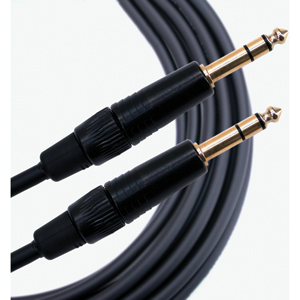 [MG-GTRSTRS] Mogami Gold TRS/TRS balanced 1/4� patch cable