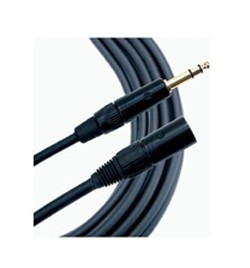 [MG-GXLRmTRS] Mogami Gold XLR Female to 1/4� TRS male adaptor cable