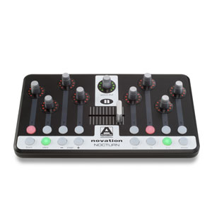 [NV-NOCTURN] Ultra-compact touch-sensitive controller for your instrument or effects plug-ins
