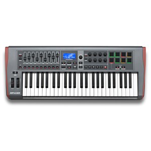 [NV-I49] ReMOTE USB MIDI controller KB 4 Octave, precision semi-weighted, back-lit drum pads includes Automap 4