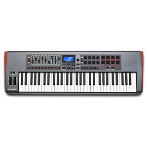 [NV-I61] ReMOTE USB MIDI controller KB 5 Octave, precision semi-weighted, back-lit drum pads includes Automap 4