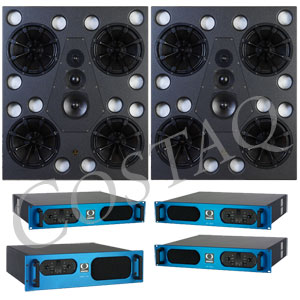 [Q-QHM415] Main System 4-Way Active Reference Monitors
