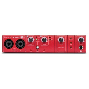 [FR-S8I6] Scarlett 8i6 :: 8 in / 6 out USB 2.0 audio interface featuring two Focusrite mic preamps