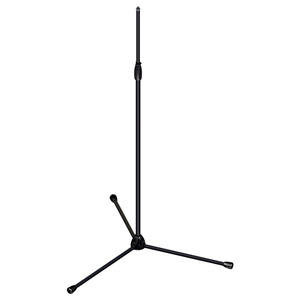 [US-TTTa] Tour Series Mic Stand with Black Chrome Finish, Modular Base Design, and Quarter-turn Clutch - Tripod Base/Tall Height