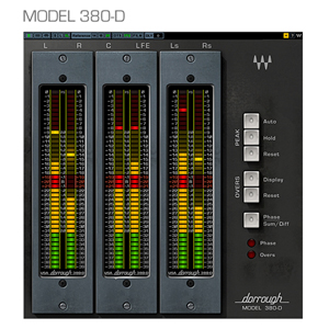 [WAV-Dor360SMN] Complete metering solution for professional surround and stereo level monitoring applications, in Native Format